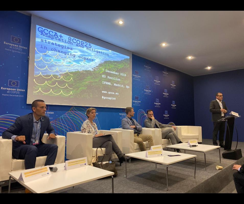 GCCA+ @COP25: Adaptation and mitigation strategies in changing oceans