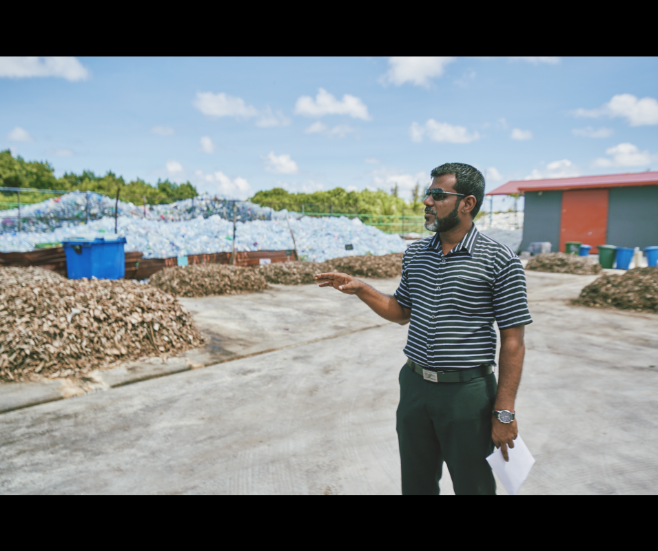 GCCA+ Adaptation to Climate Change in Maldives ©Ali Nishan/Climate Tracker