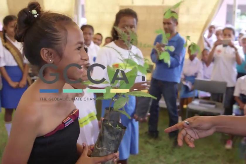 GCCA+ Timor-Leste: Strenghtening resilience to climate change in rural communities