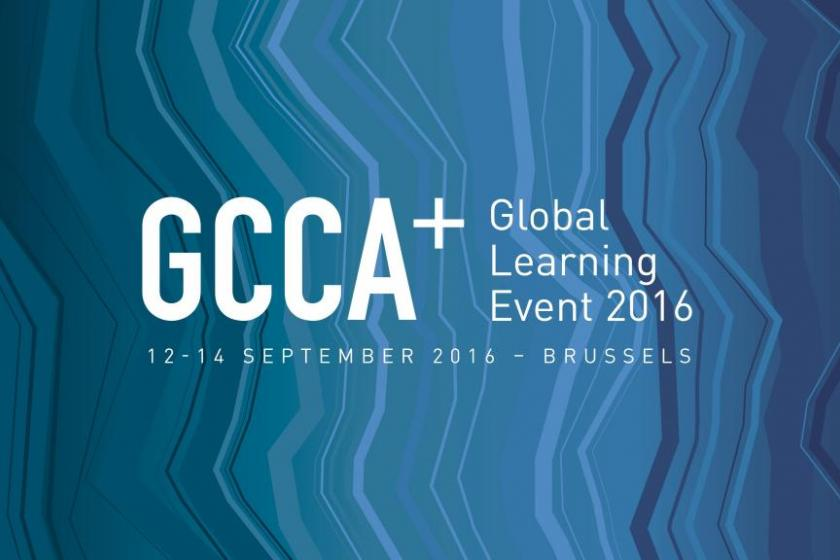GCCA Global learning event